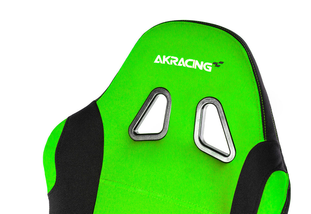 AKRACING AK-7018 Gaming Chair Black/Green- REFURBISHED(1 YEAR WARRANTY)