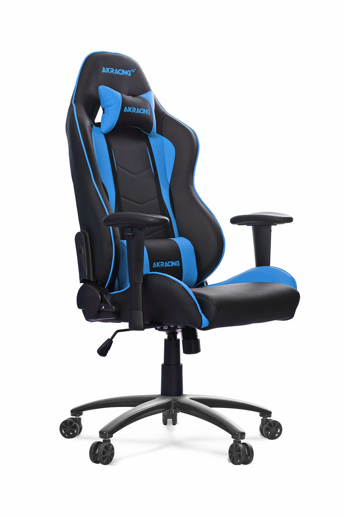 AKRACING AK-5015 Nitro Gaming Chair Black/Blue - REFURBISHED(1 YEAR WARRANTY)