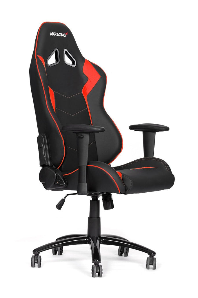 AKRACING AK-5050 Ergonomic Series Racing Gaming Office Executive Chair Black/Red Edition