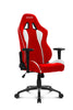 AKRACING AK-5015 Nitro Gaming Chair White/Red - REFURBISHED(1 YEAR WARRANTY)