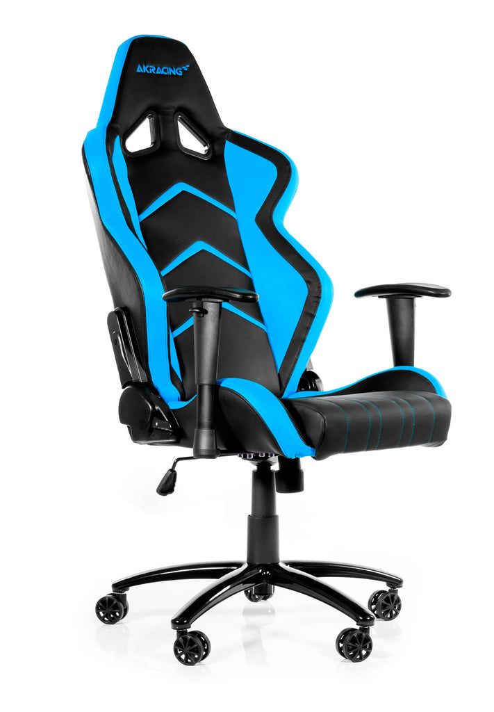 AKRACING AK-6014 Gaming Chair Black/Blue - REFURBISHED(1 YEAR WARRANTY)