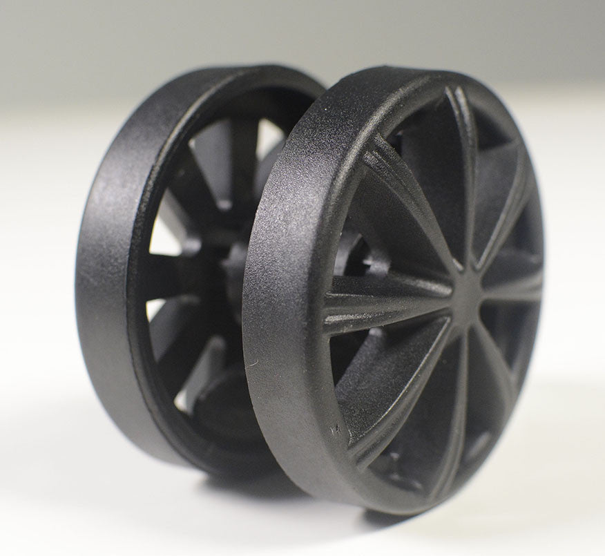 AKRacing Racing Black Wheels - 5 Pieces