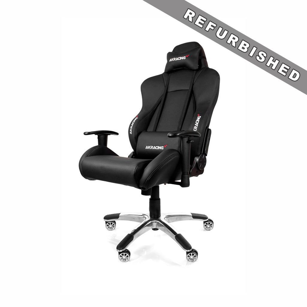 AKRACING AK-7002 Gaming Chair Black - REFURBISHED(1 YEAR WARRANTY)