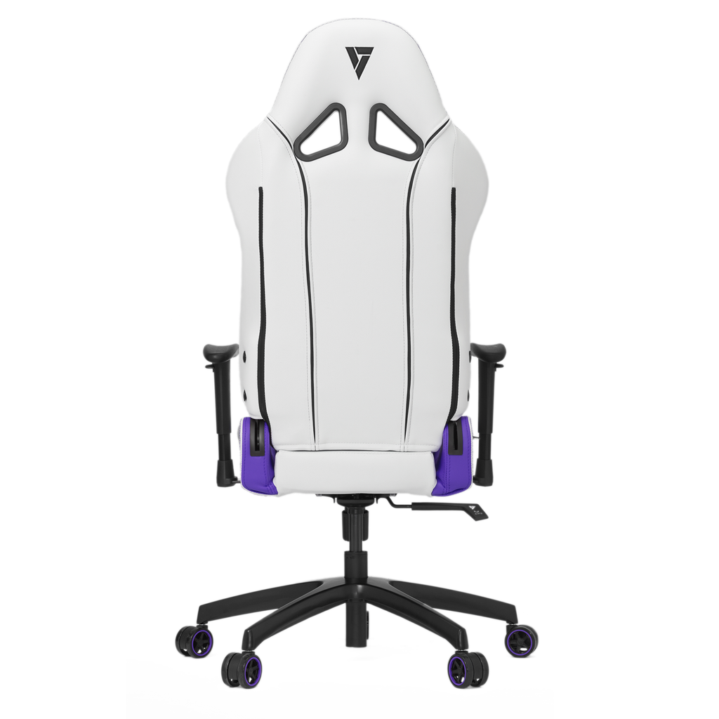 Vertagear S-Line SL2000 Racing Series Gaming Chair -White/ Purple REFURBISHED ( 1 YEAR WARRANTY)