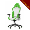 Vertagear S-Line SL2000 Racing Series Gaming Chair - White/Green REFURBISHED (1 YEAR WARRANTY )