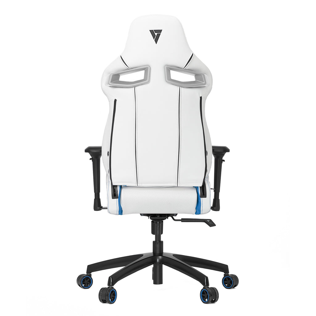 Vertagear S-Line SL4000 Racing Series Gaming Chair - White/Blue (Rev. 2)