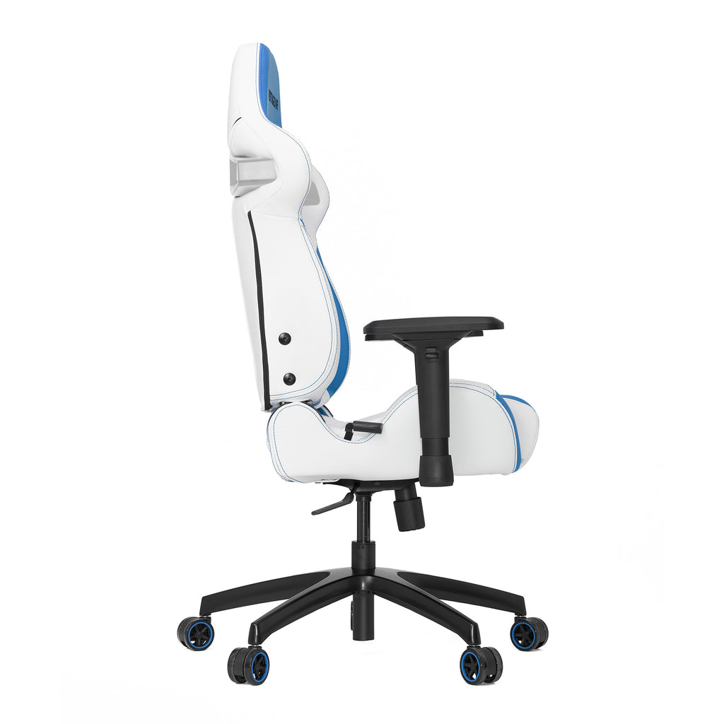 Vertagear S-Line SL4000 Racing Series Gaming Chair-White/Blue- REFURBISHED ( 1 YEAR WARRANTY)