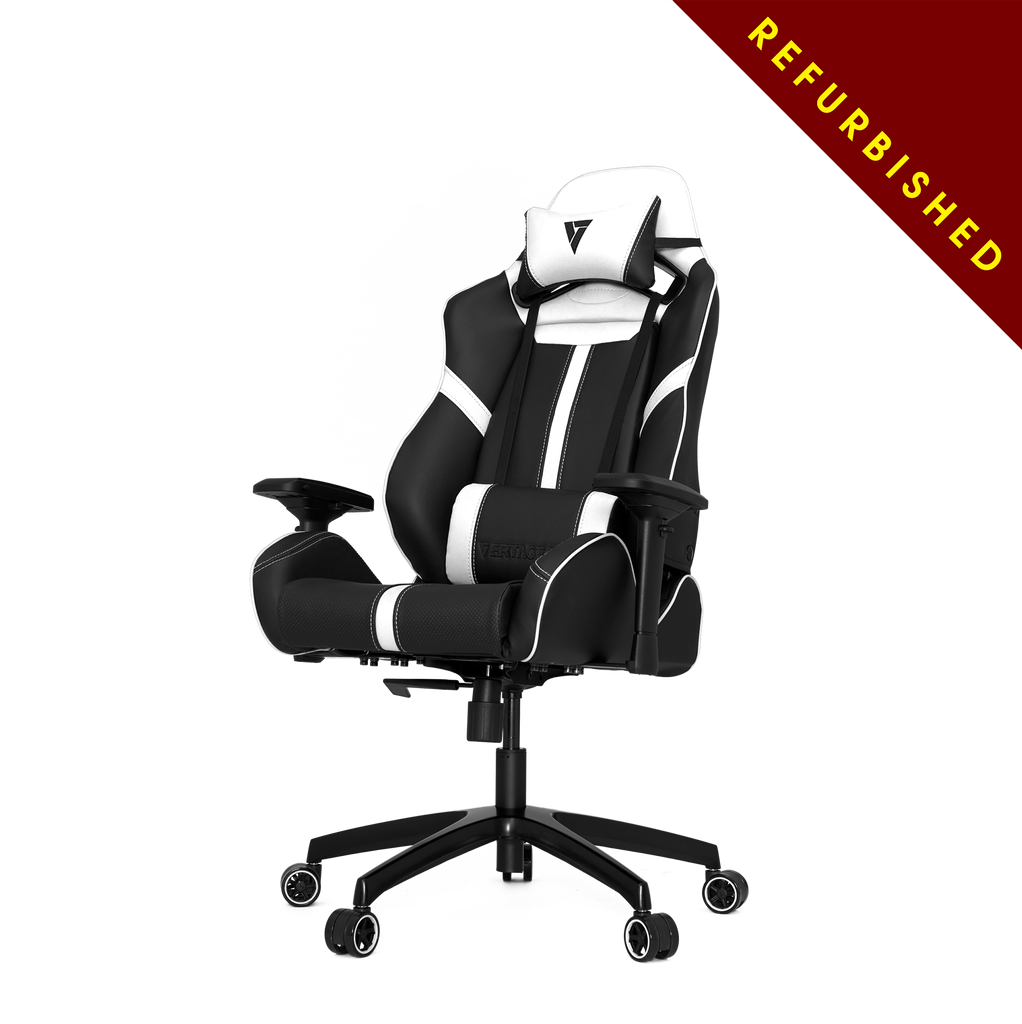 Vertagear S-Line SL5000 Racing Series Gaming Chair - Black/White (Rev. 2) - REFURBISHED (1 YEAR WARRANTY)