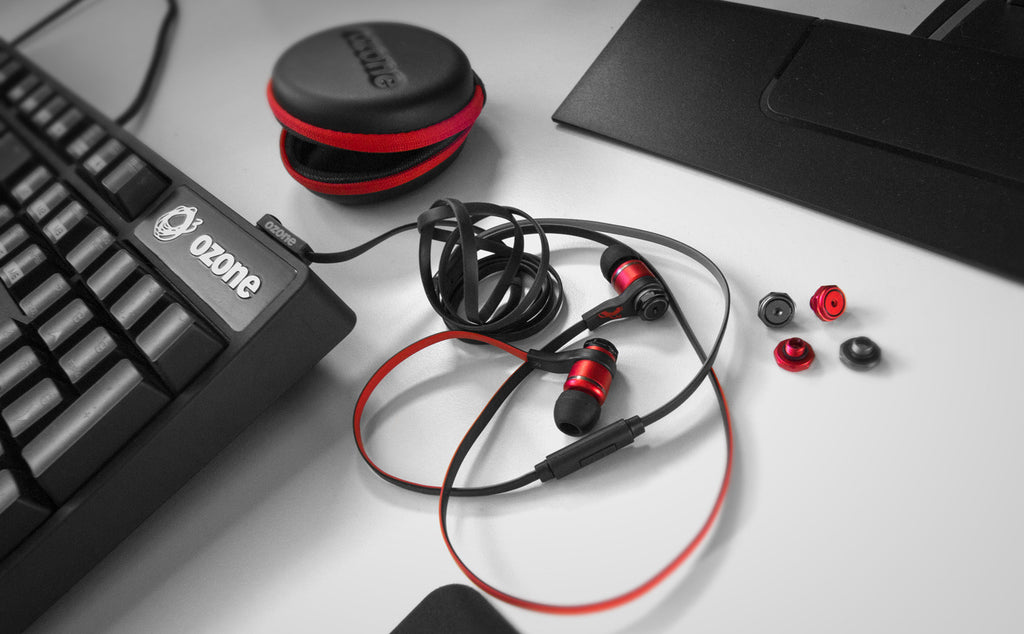Ozone Gaming in-ear headsets TriFX