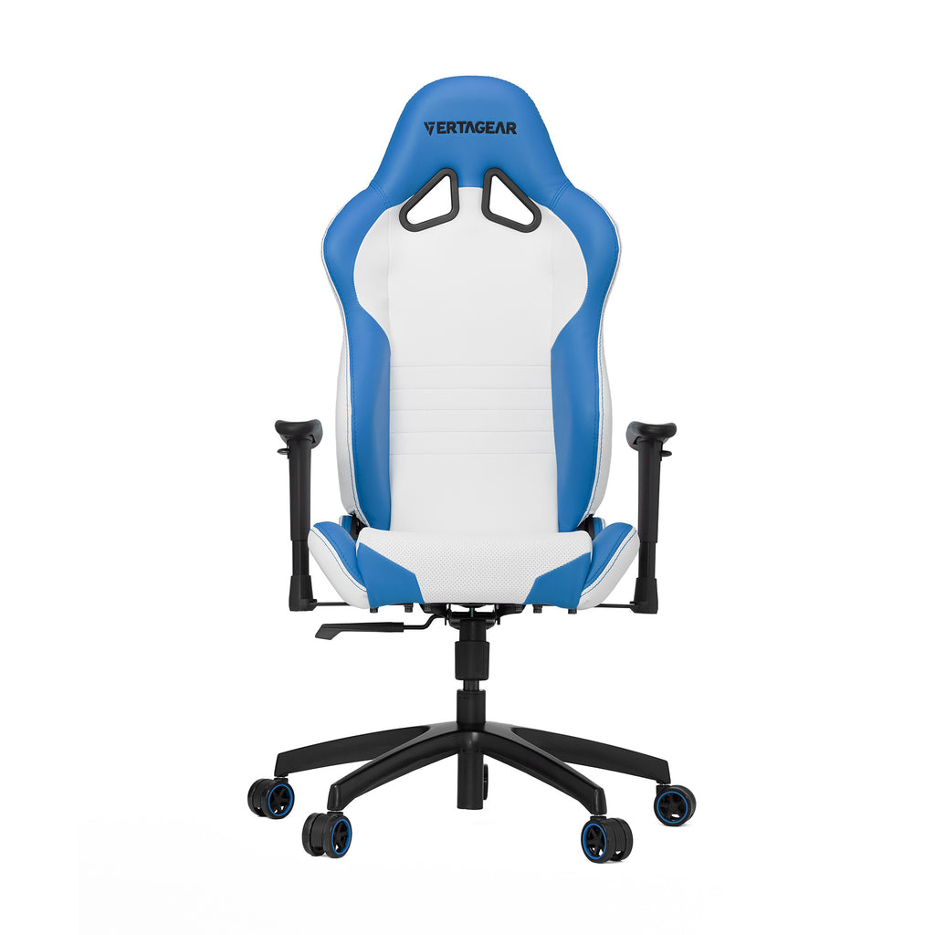 Vertagear S-Line SL2000 Racing Series Gaming Chair - White/Blue-REFURBISHED ( 1 YEAR WARRANTY)