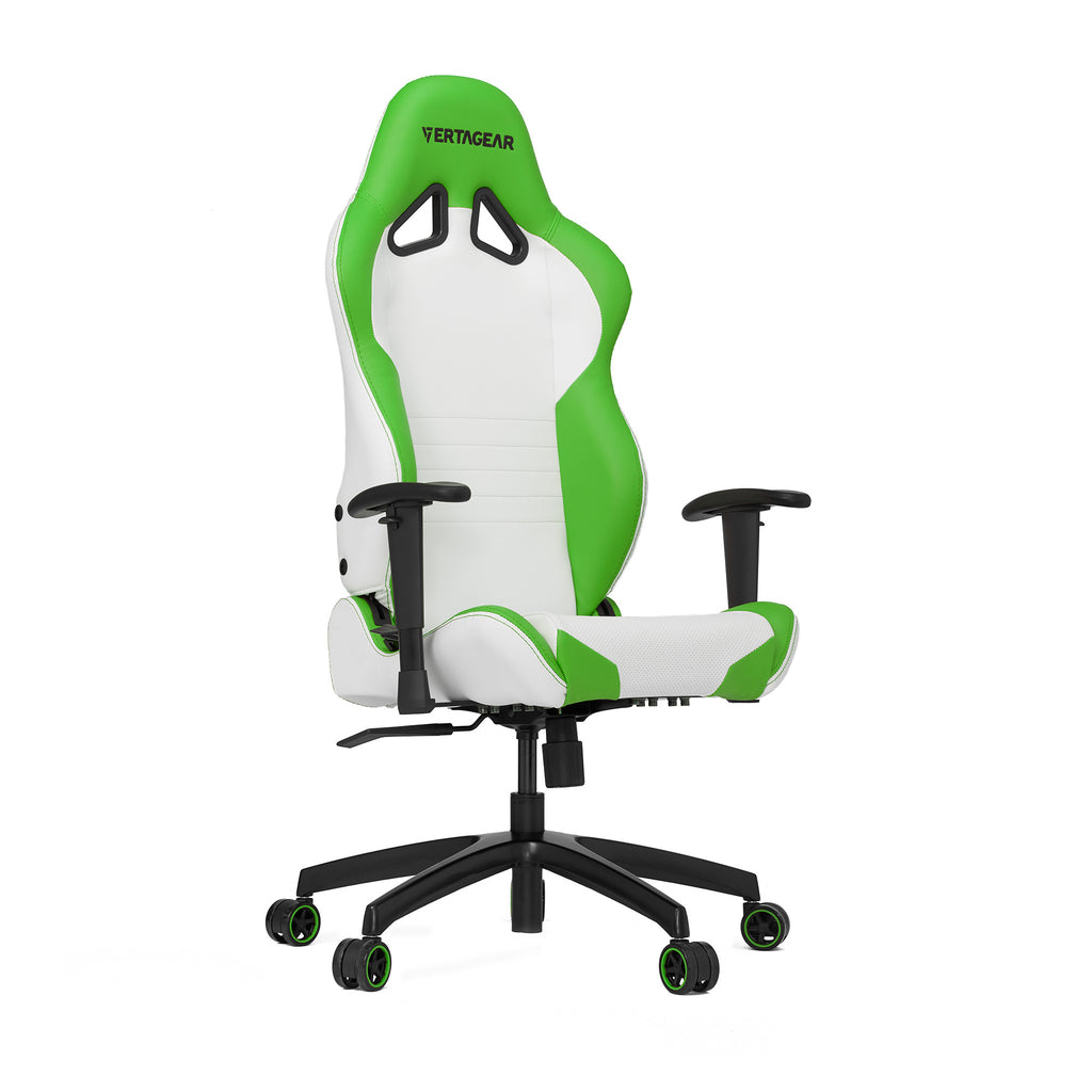 Vertagear S-Line SL2000 Racing Series Gaming Chair - White/Green (Rev. 2)