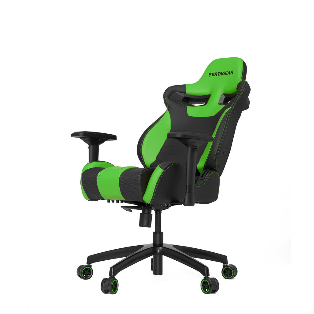 Vertagear S-Line SL4000 Racing Series Gaming Chair - Black/Green (Rev. 2)