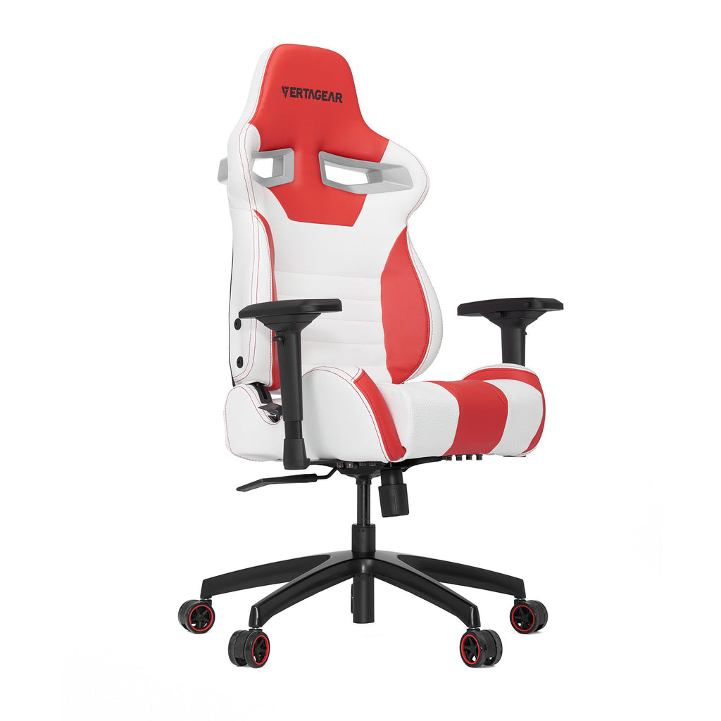 Vertagear S-Line SL4000 Racing Series Gaming Chair - White/Red (Rev. 2)