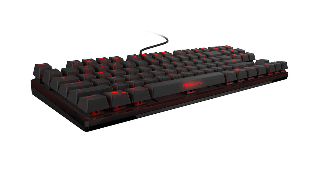 Ozone Gaming Strike Battle Mechanical MX Brown Cherry Switches Keyboard