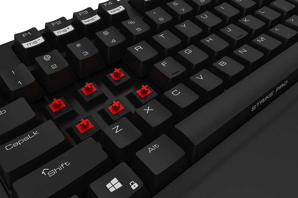 Ozone Gaming Strike Pro Mechanical MX Red Cherry Switches Keyboard