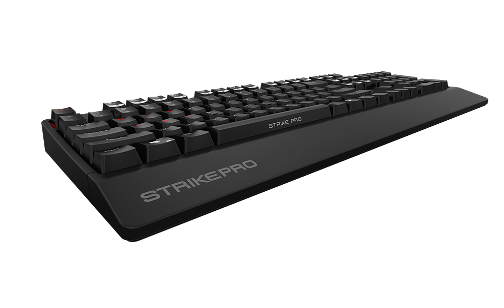 Ozone StrikePro - Backlit Mechanical Gaming Keyboard with Cherry Brown MX Switches