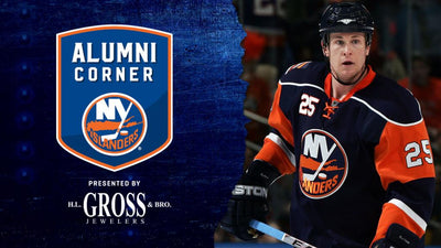 Sutton Featured on Islanders Alumni Corner