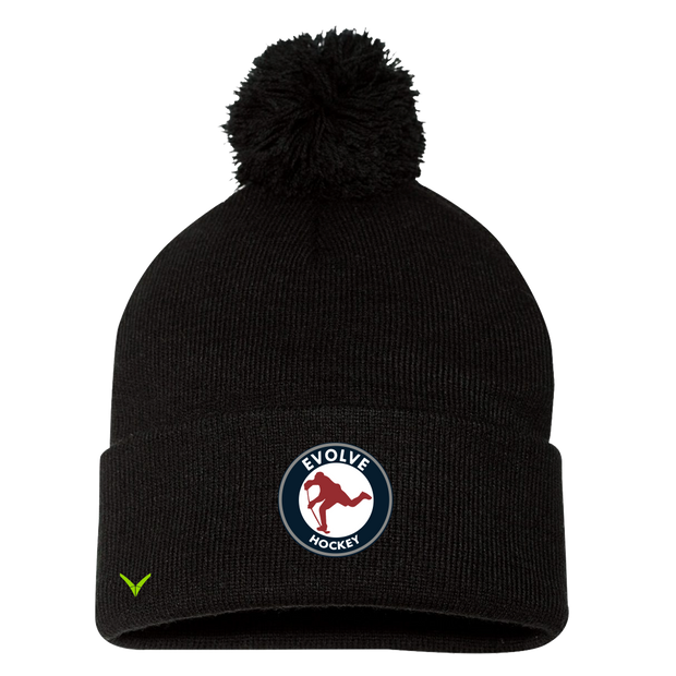 Evolve Hockey Pom Beanie / Toque