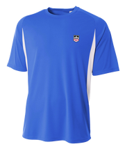 Demo Hockey Short Sleeve Cooling Performance Color Block Tee