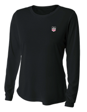 Demo Hockey Women's Long Sleeve Cooling Performance Crew