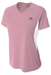 Demo Hockey Women's Short Sleeve Cooling Performance Color Block Tee