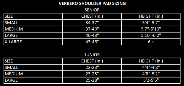Shield Junior Shoulder Pads
