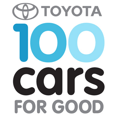 http://www.toyota.com/letsgoplaces/100-cars-for-good/