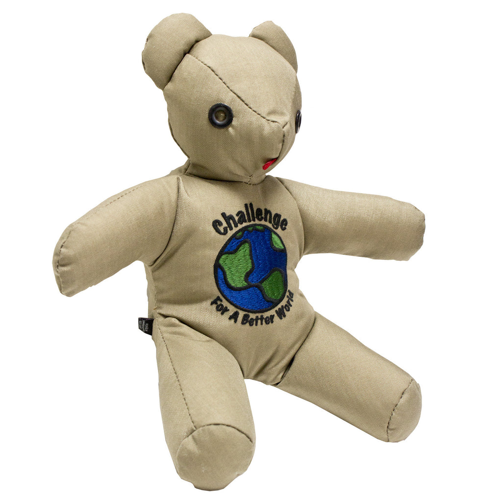 Challenge Bear, Embroidered