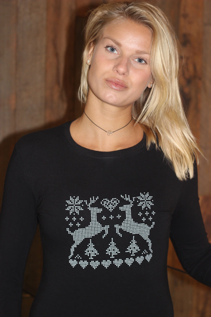Nordic Forest Embossed Tee