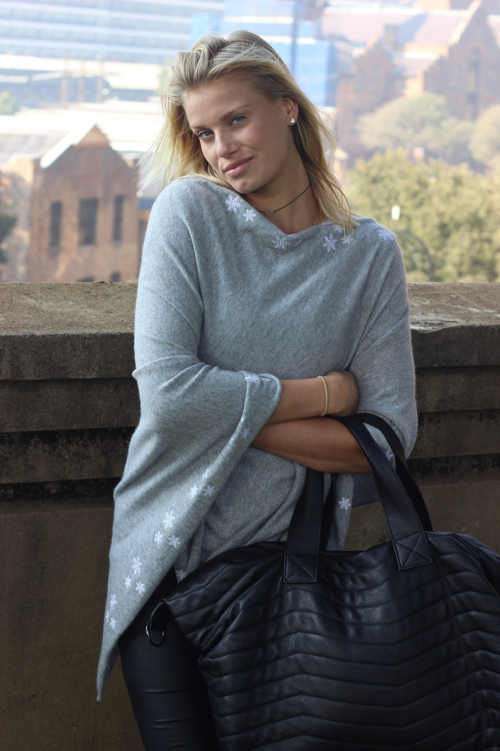 The Perfect SnowAngel Cashmere Poncho