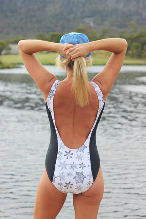"""Snowstorm"" Snuxe Swim and Watersports Suit"