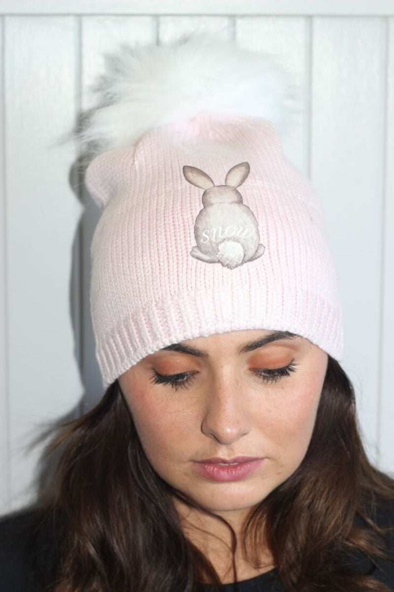 Snuxe Luxe SNOWBUNNY Beanie PINK