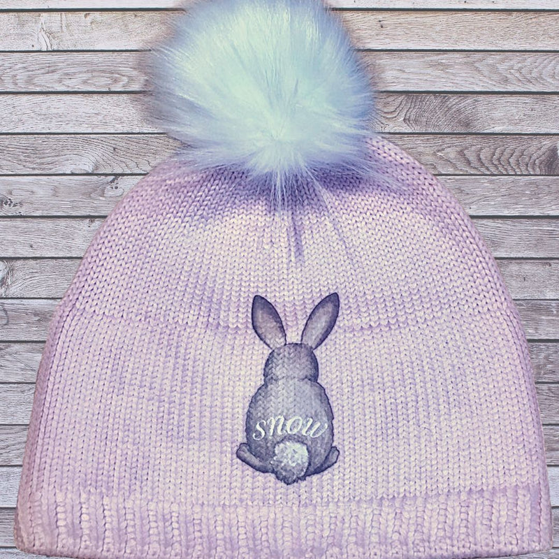 Snuxe Luxe SNOWBUNNY Soft pink Beanie