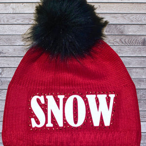 Snuxe Luxe SPARKLES IN THE SNOW Beanie