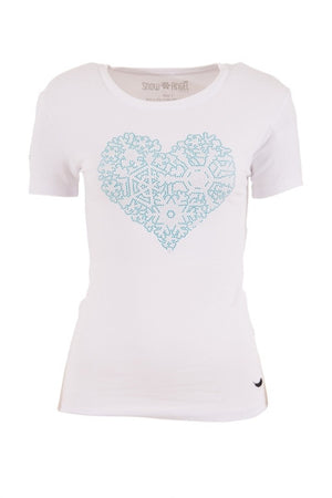 "SnowAngel ""SWEETHEART"" embossed Tee"