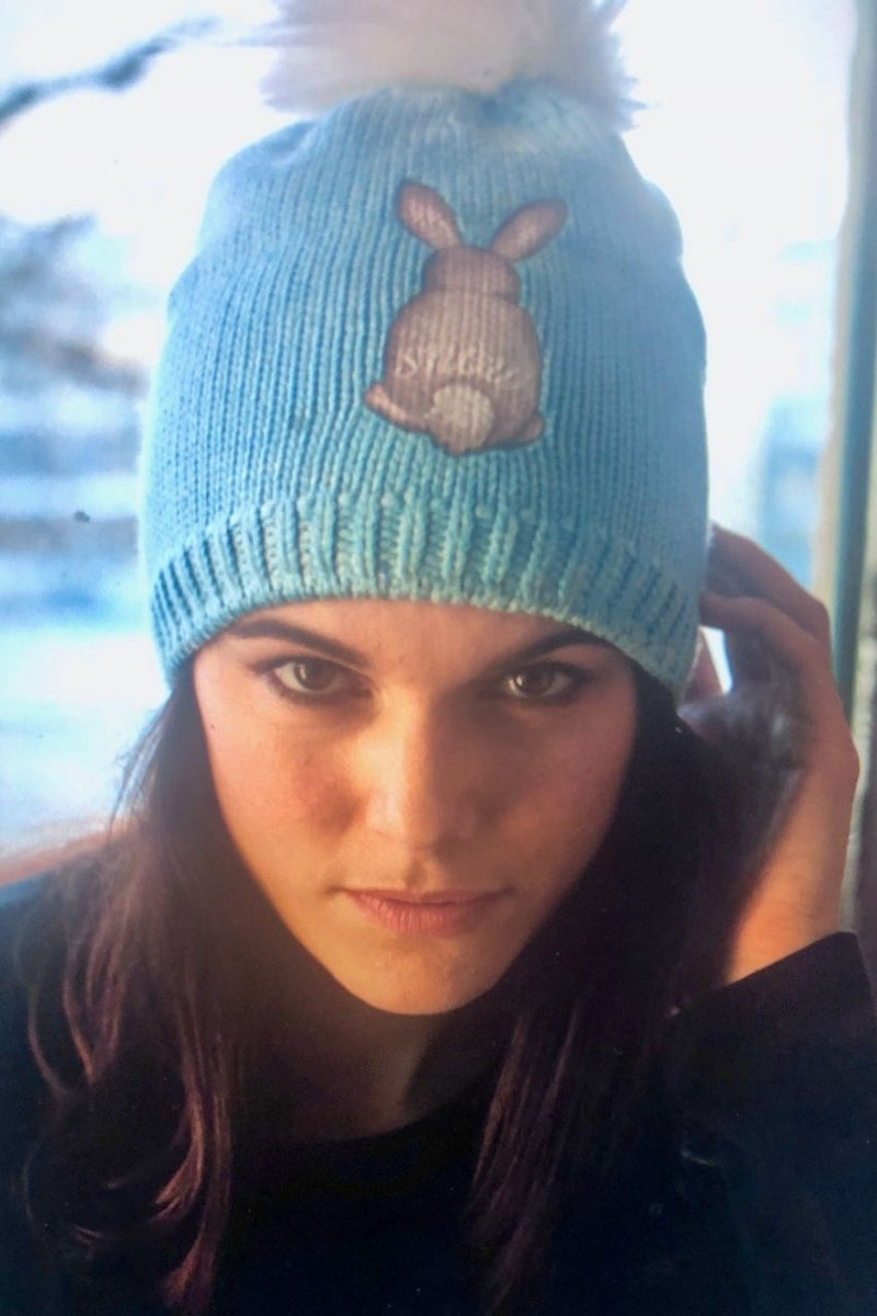Snuxe Luxe SNOWBUNNY Beanie Blue