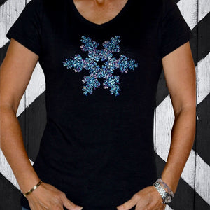 The SNOW STAR S/Sleeve Vee Tee