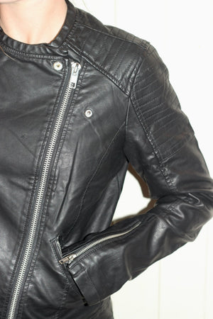 APRES LOVE Vegan Leather Jkt