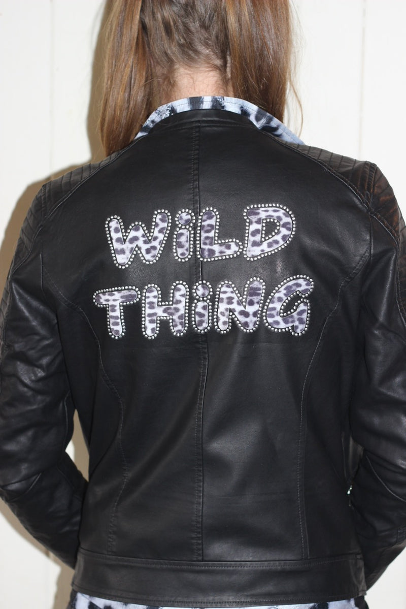 WILD THING Vegan Leather Jkt