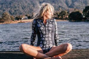 """Midnight Snowfall"" Watersports Suit"