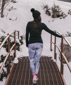"""Mountain High"" Performance Leggings"