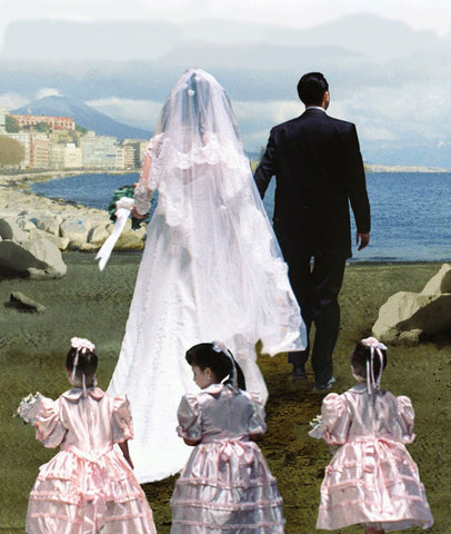 Elena Ferrante - My Brilliant Friend cover illustration