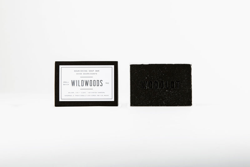 Wildwoods Charcoal — 4oz Soap Bar