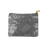 Zip Wallet Small - Silk Jacquard (gray)