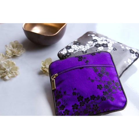 Silk Brocade Coin Pouch