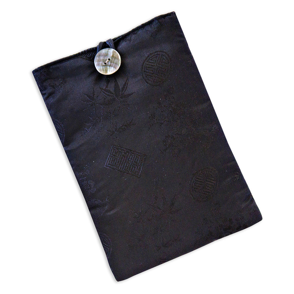 Tablet Cover - Silk Jacquard (black)