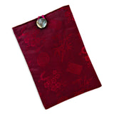 Tablet Cover - Silk Jacquard (chili red)
