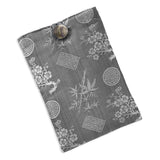Tablet Cover - Silk Jacquard (gray)