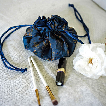 Vintage inspired handcrafted silk-satin accessories. Pretty enough to safely cushion jewelry on a dresser or nightstand. Perfect for travel & gifts. // OldShanghaiOnline.com