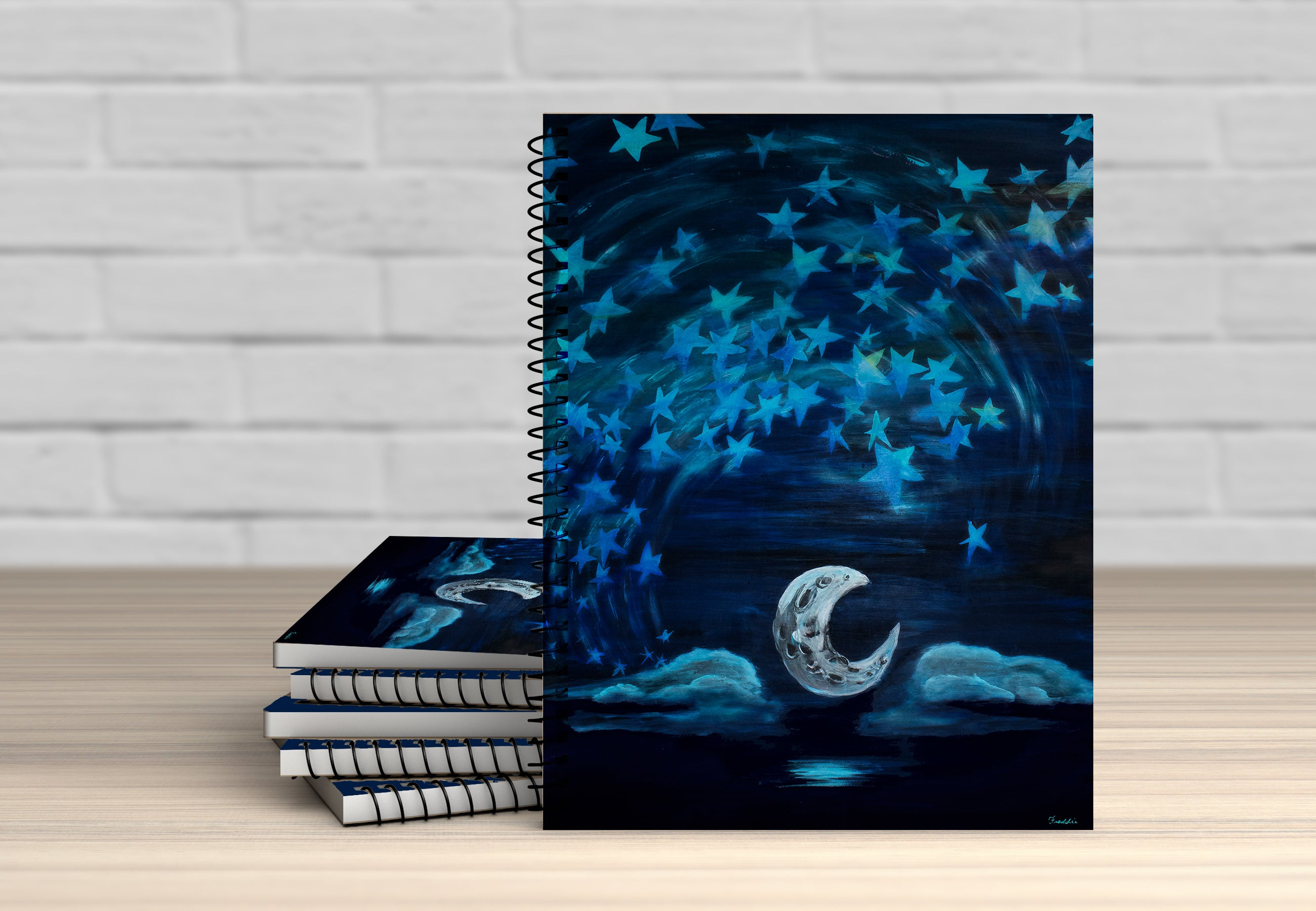The Light of the Moon Notebook